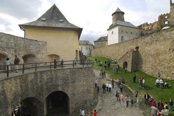 Ľubovniansky hrad a múzeum v návštevnosti dominujú.