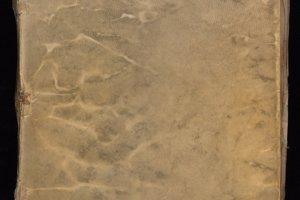 Predná obálka Voynichovho rukopisu.