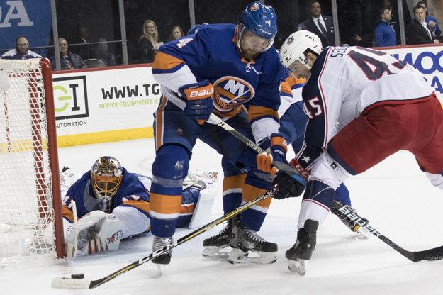 Jaroslav Halák mal významný podiel na úspechu New Yorku Islanders.