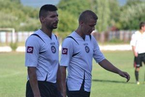 Zahrajú si Danko (vľavo) aPavlina znovu spolu vdrese MFK?