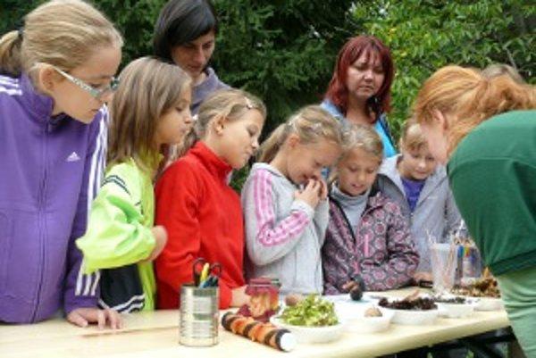 Žiaci zo Základnej školy na Hrnčiarskej ulici vo Zvolene spoznali ekocentrum ako prví.