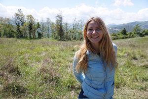 Alexandra Urbániková študuje na New York University Abu Dhabi.