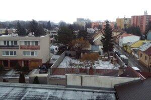 Napadnutý sneh už stihol zmiznúť.