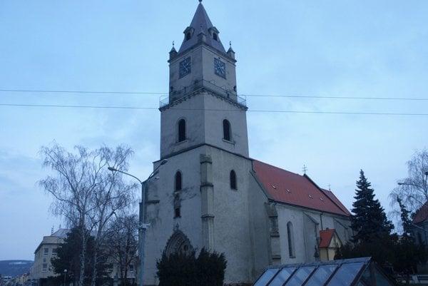 Kostol sv. Michala v Hlohovci.