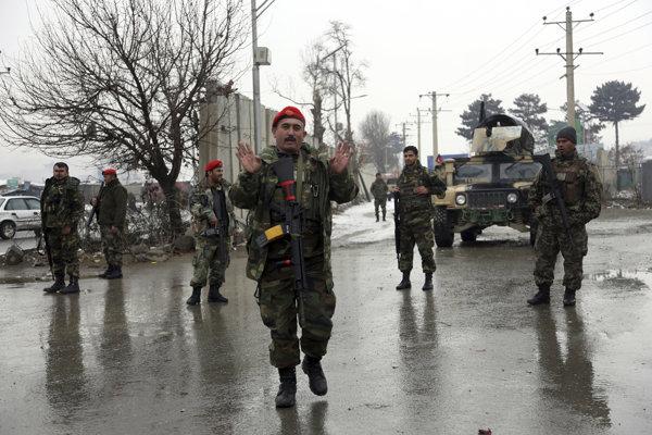 Okrem Bosny a Hercegoviny pôsobia naši vojaci aj v Afganistane. Ilustračná snímka.