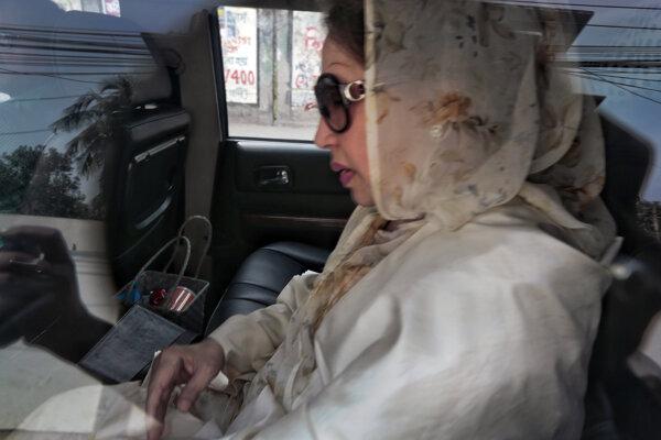 Niekdajšia bangladéšska premiérka Chálida Zijáová.
