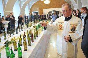 Požehnanie mladých vín.