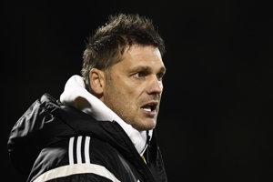 Tréner AS Trenčín Vladimír Cifranič.