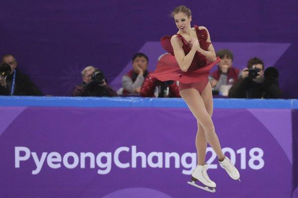 Talianska krasokorčuliarka Carolina Kostnerová vyhlásila, že sa na olympiáde stále cíti ako malé dievčatko - aj keď bojuje už na štvrtej.