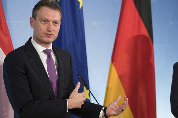 Holandský minister zahraničia Halbe Zijlstra.