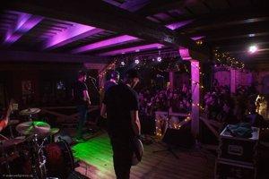 Na koncerte v RC Mlyn.