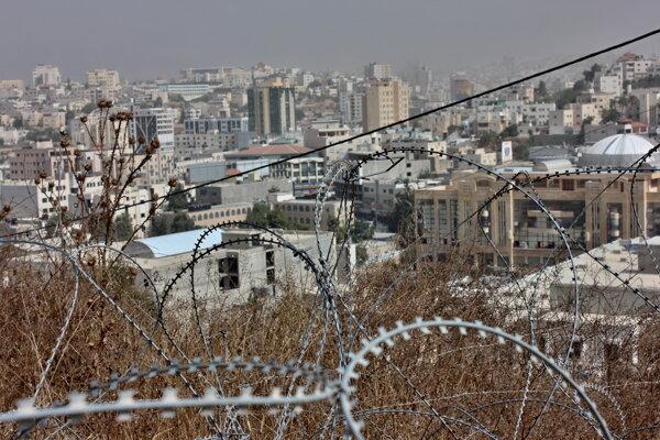Palestínsky Hebron.