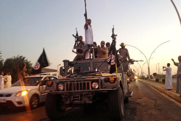 Islamisti z teroristickej skupiny Islamský štát.