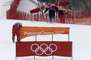Diváci sa slalomu nedočkali.
