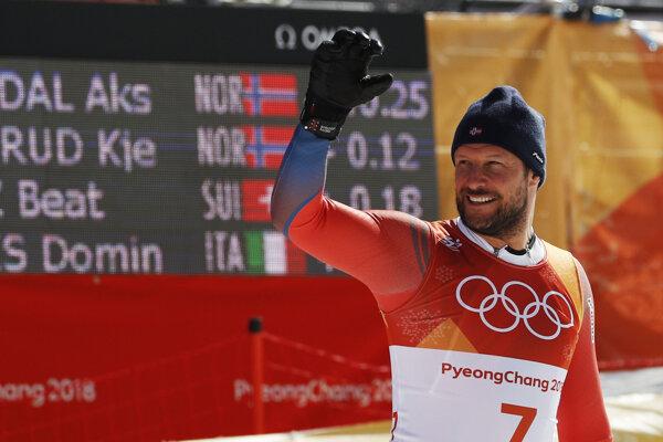 Aksel Lund Svindal je najstarším olympijským víťazom medzi alpskými lyžiarmi.