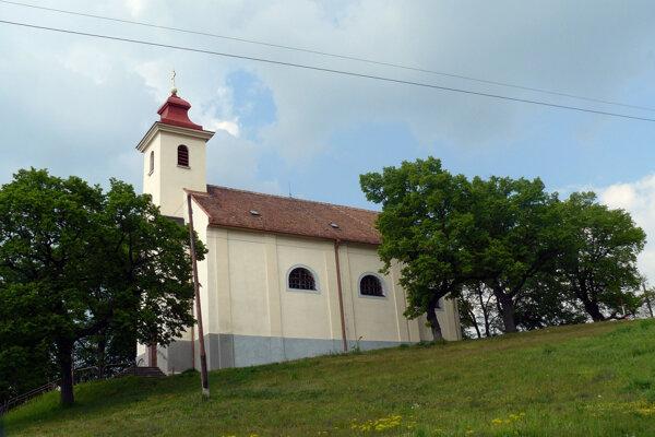 Kaplnka svätej Rozálie v Lamači.