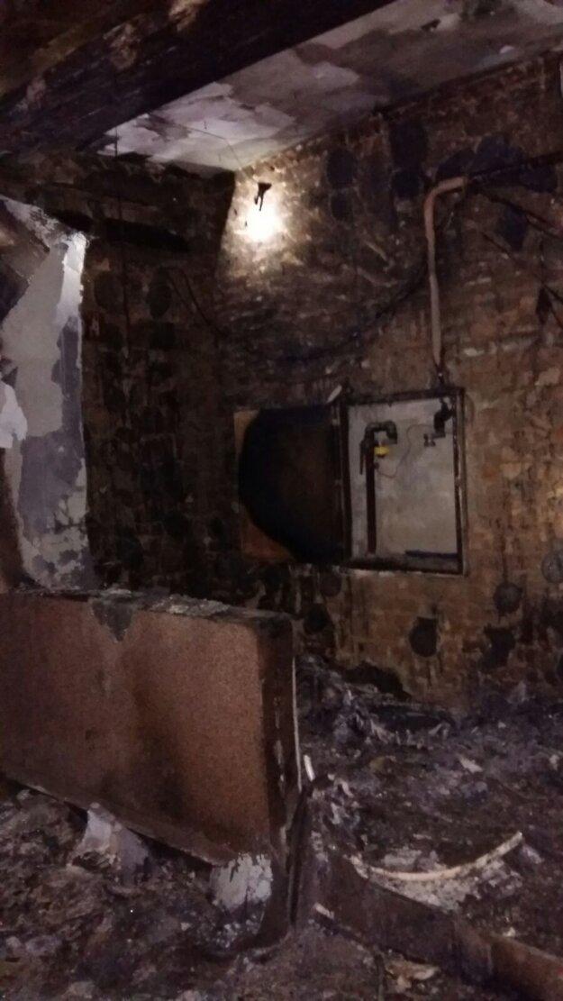 Na mieste zasahovalo šesť hasičov z Trnavy.