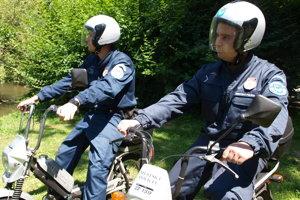Mestskí policajti na babetách - archívna fotka z roku 2013.