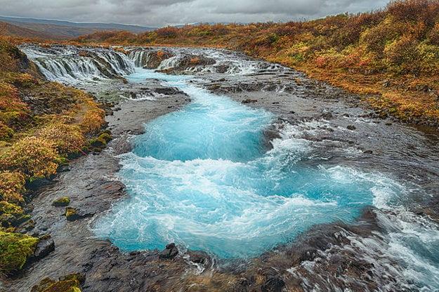 Island. Bruarfoss