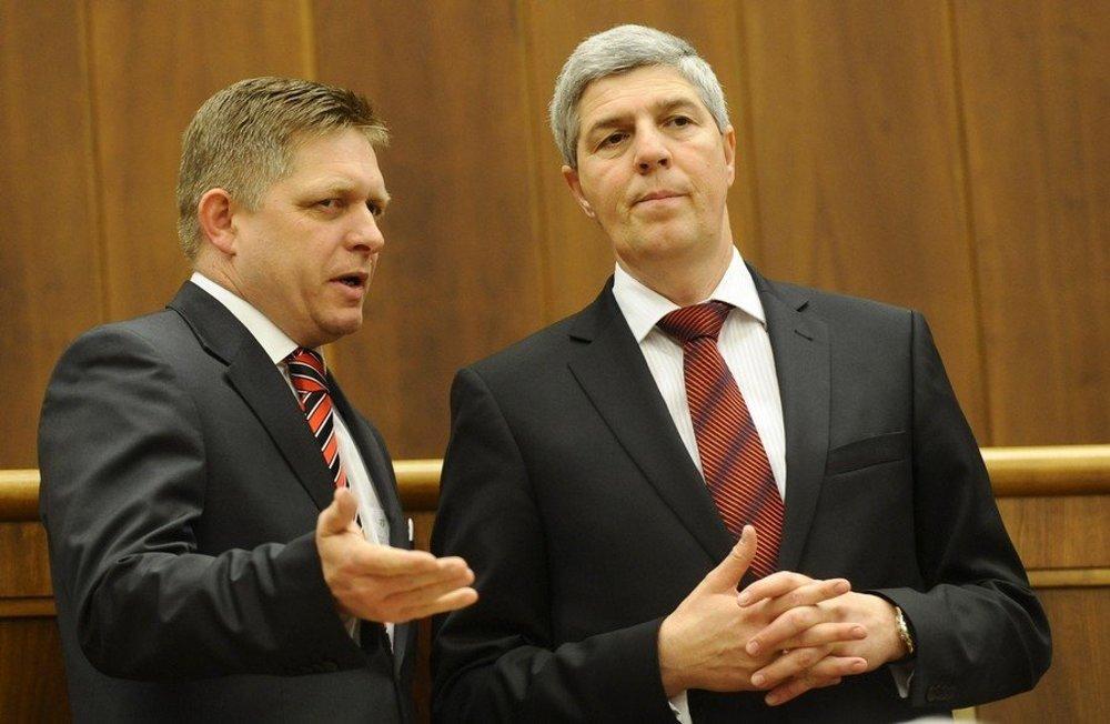 Robert Fico a Béla Bugár. Vytvorí Smer s Mostom-Híd koalíciu?