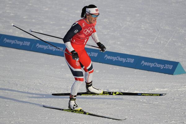 Nórka Marit Björgenová.