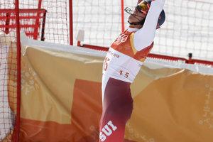 V cieli spokojný Švajčiar Ramon Zenhäusern napokon dosiahol až na bronz.