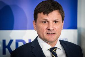 Súčasný predseda KDH Alojz Hlina.