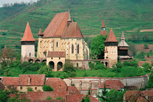 Kostol Biertan v rumunskom Sedmohradsku