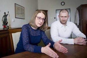 Manželia Zuzana a Peter Tománkovci sa chcú pre Čistý deň súdiť.