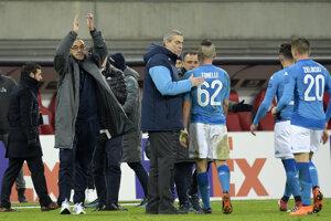 Neapol bol po zápase s Lipskom sklamaný. Mal blízko k postupu.