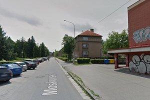 Moskovská ulica v Martine.