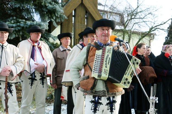 Folklórna skupina Hájiček zachováva piesne rodáka Gašpara Drozda.