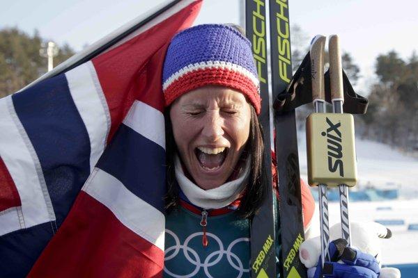 Marit Björgenová je najúspešnejším športovcom v histórii zimných olympijských hier.