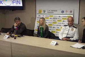 Na tlačovke v1. FC Tatran Prešov.