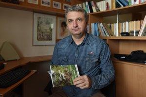 Spisovateľ Stanislav Petráš.