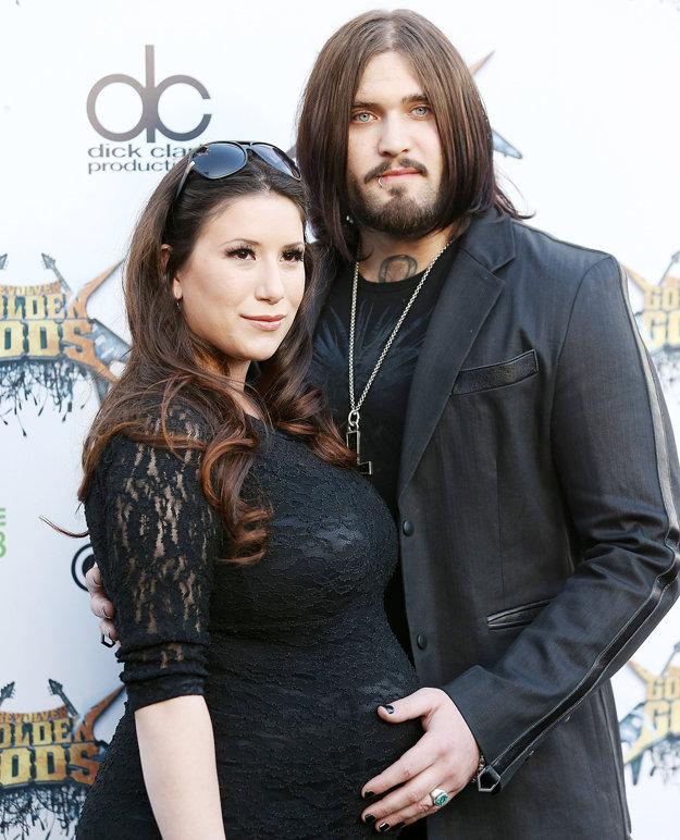 Weston Cage s manželkou Daniellou.