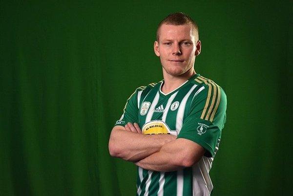Peter Čögley v drese nového tímu Bohemians Praha.