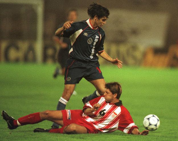 Helbich kedysi hral aj proti Ajaxu Amsterdam.