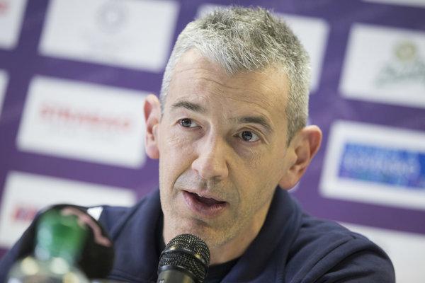 Nový tréner reprezentácie žien Marco Fenoglio.