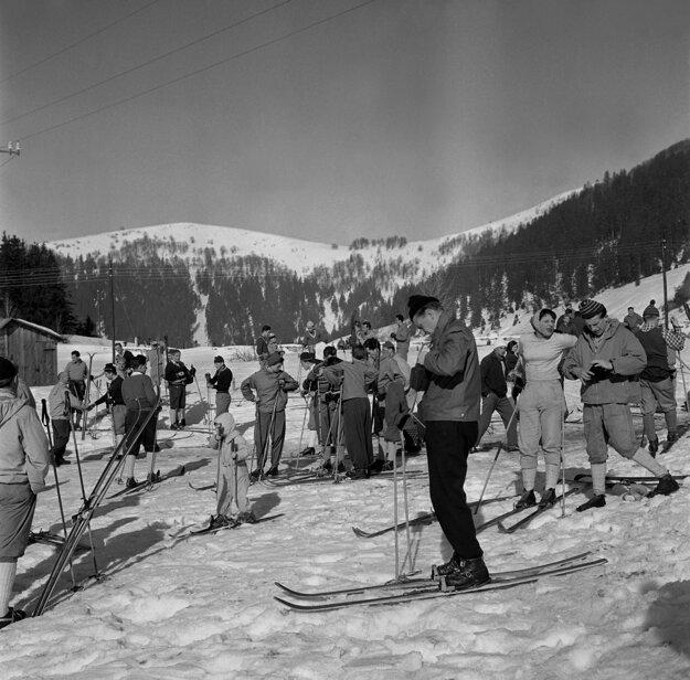 Donovaly, rok 1960