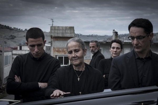 Záber z filmu Čierne duše.