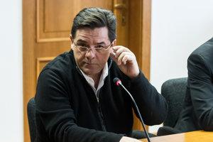 Marian Kočner počas pojednávania v spore týkajúcom sa zmeniek.