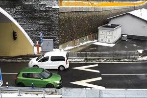 Kým vodič vyšiel z tunela, ostatné vozidlá už boli o nebezpečenstve informované.