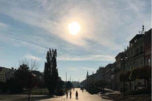 Slnečný deň v Prešove