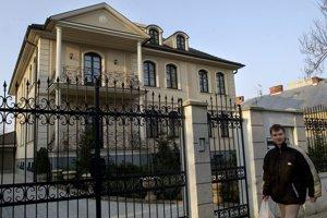 Fotografia zo 4. marca 2003 - Luxusná vila bývalého podpredsedu HZDS Arpáda Matejku na Študentskej ulici.