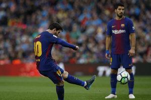 Lionel Messi rozhodol o triumfe Barcelony.