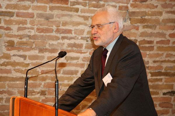 Bývalý rakúsky vicekancelár Erhard Busek.
