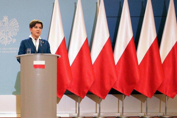 Poľská premiérka Beata Szydlová.