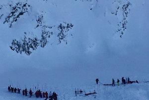 Lavína pripravila o život 14-ročného chlapca a 16-ročné dievča. Obeťou sa stal aj lyžiar z Ukrajiny.