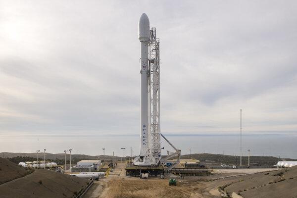 Raketa Falcon 9 spoločnosti SpaceX.